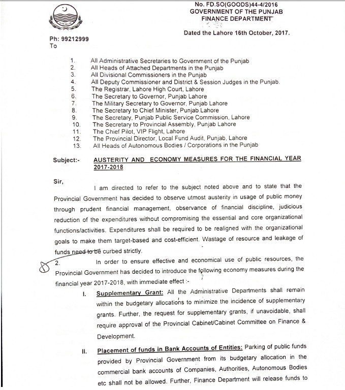 Notification of Ban Upgradation Posts in Punjab 2017