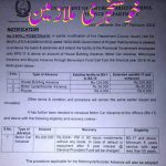 Notification of Revised Rates Advances KPK (Motorcycle, House Building, Bicycle, Motorcar)
