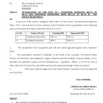 Telephone Operators Upgradation Notification of 2013-14