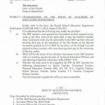 Education Department Teachers Upgradation-Notification of Accountant General Punjab