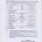 Notification of Holidays Schedule 2018 Higher Education Department Punjab