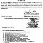 Notification Upgradation Inspectors & Sub Inspectors-Sindh