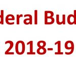 Final Date of Presentation Budget 2018-19 by Federal Government