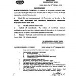 Notification of Punjab Local Government and Community Development Department Employees Service Rules 2018