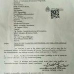 Notification of Frequent Transfer Posting and Violation of Rules of Business