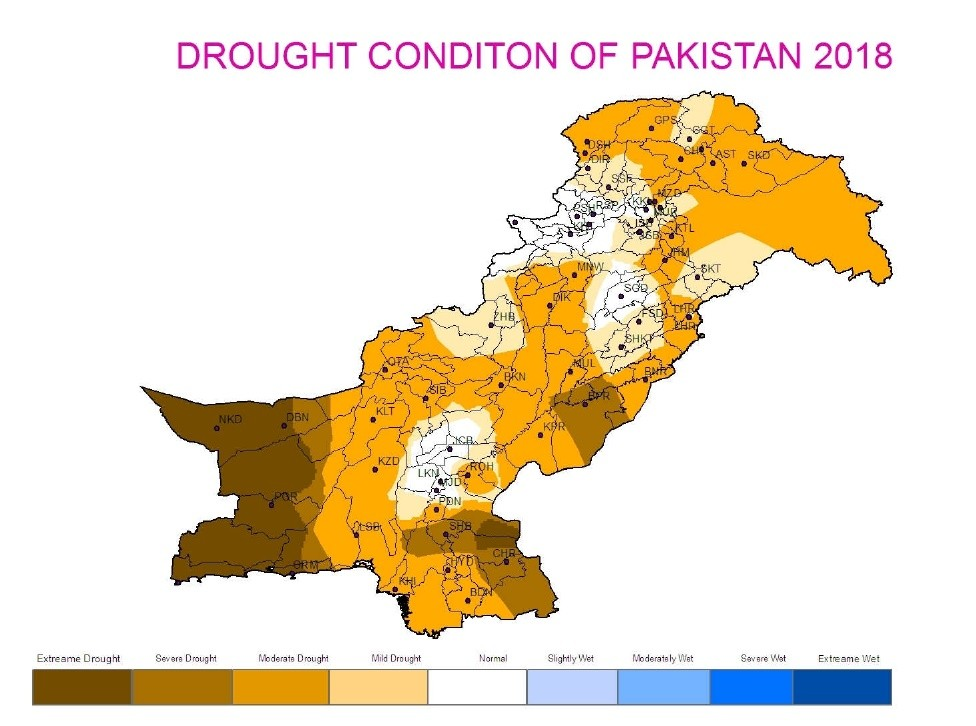 Notification of Countrywide Drought Alert 2018