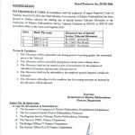 Notification of Enhancement Existing Rates of Special Service Tribunal Allowance-KPK