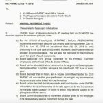 Notification of Annual Increment Policy Punjab Health Facilities Management Company