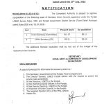 Notification of Upgradation Union Secretary by Local Govt Punjab