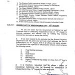 Notification of Observance Independence Day 14th August 2018