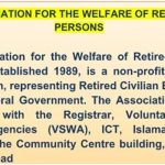 Association for the Welfare of Retired Persons (AWRP)