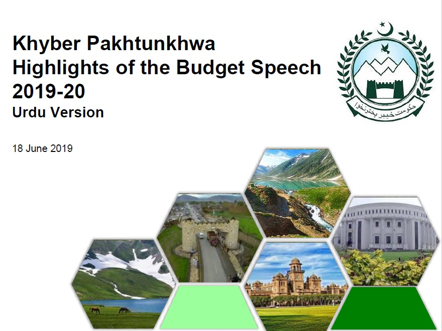 Copy of Budget Speech 2019-20 KPK and Salaries of KPK Govt Employees