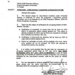Guidelines Inter District Transfers (eTransfer System)