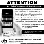 Buy Only PTA Approved Mobile Devices