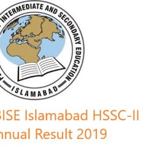 Latest Updates HSSC Result 2019 Federal Board of