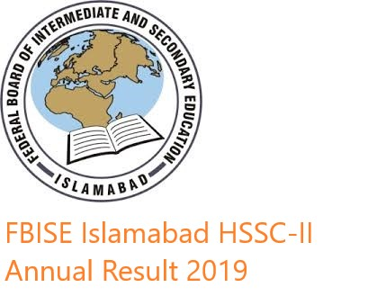 FBISE HSSC-II Annual Result 2019 Online