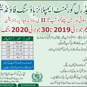 Federal Employees Housing Scheme Membership Phase-II