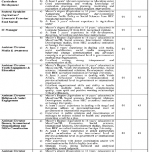 Jobs in MSNC P&D Board Punjab 2019