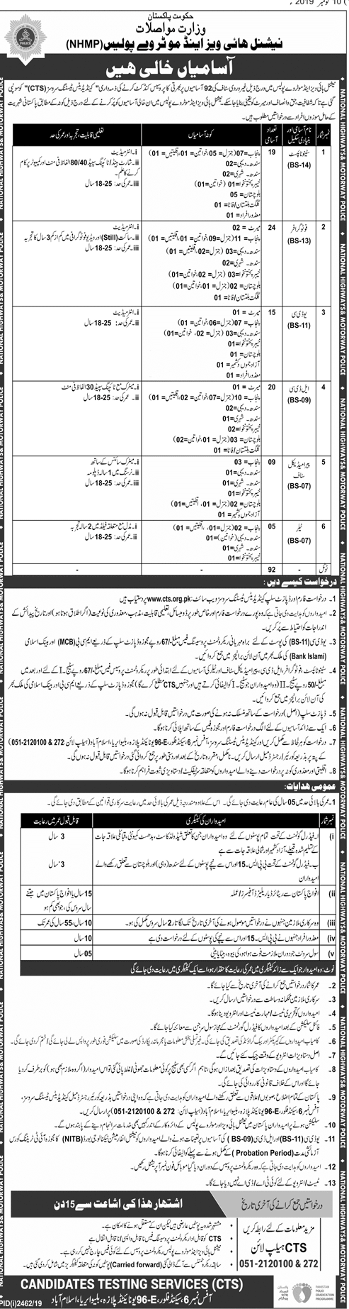 Advertisement NH&MP Jobs 2019