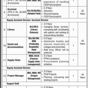 National University of Technology Islamabad Jobs 2019