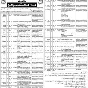 Vacancies in Military Lands and Cantonment Department 2019