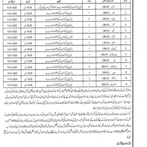 Class IV Employees Vacancies Health Department Sahiwal