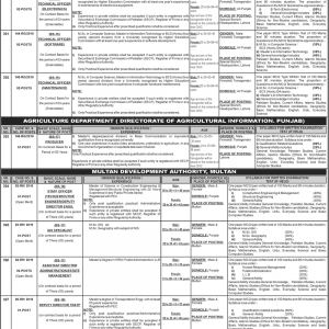 MDA & Punjab Police Special Branch Jobs Through PPSC