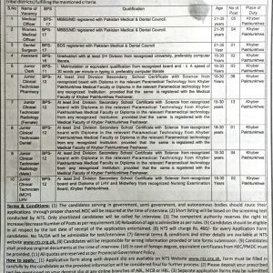 Jobs in Employees Social Security Institution Khyber Pakhtunkhwa