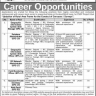 Career Opportunities in Pakistan Bureau of Statistics on Contract / Merit Basis