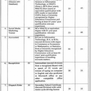 Jobs in Punjab Small Industries Corporations