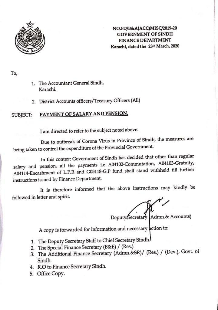 Notification of Withheld Encashment
