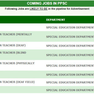 Upcoming Jobs of Educators and Other Teachers in Special Education Department