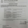 Notification of Examination Schedule 2020 University of the Punjab