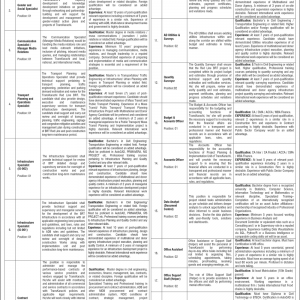 Karachi BRT Red Line Project Jobs Opportunities 2021