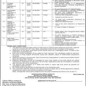 Latest Government Jobs Vacancies 2021 in Ministry of Human Rights