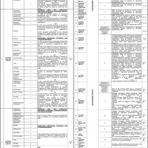 Government Jobs in University of Chakwal 2021