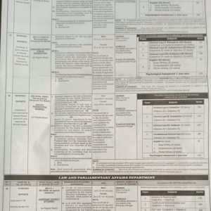 Latest PPSC Jobs March 2021 in Public Prosecution Department Punjab
