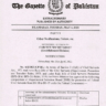 Composition of Departmental Selection Board (DSB) BPS-18 to 19